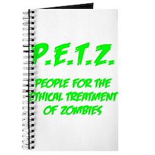 Green P.E.T.Z. Journal