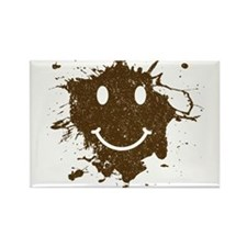 Mud Face Rectangle Magnet