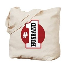 #1 Husband Tote Bag