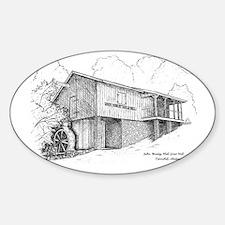 John Wesley Hall Gristmill, Tannehill, Alabama Sti