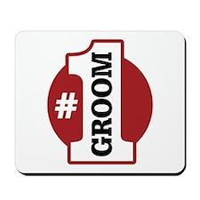 #1 Groom Mousepad