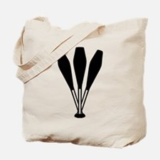 Juggling pins Tote Bag