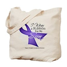 Son - Hodgkin's Lymphoma Tote Bag