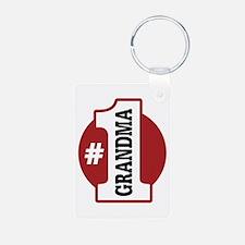 #1 Grandma Keychains