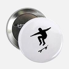 "Skateboarder 2.25"" Button"