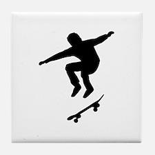 Skateboarder Tile Coaster
