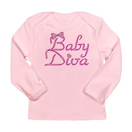 Baby Diva Long Sleeve Infant T-Shirt