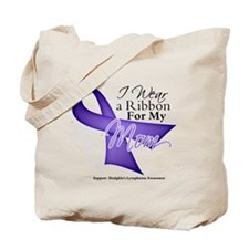 Mom Hodgkins Lymphoma Tote Bag