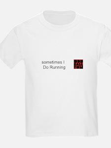 Oddballtom Kids Running T-Shirt