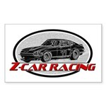 Datsun Racing Sticker (Rectangle)