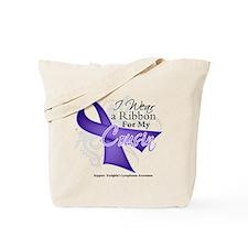 Cousin Hodgkins Lymphoma Tote Bag