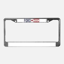 Funny Ford License Plate Frame