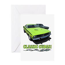 CLASSIC CUDAS! Greeting Card