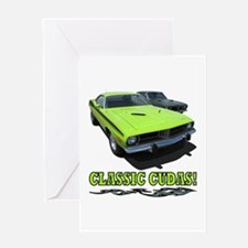CLASSIC CUDAS! Greeting Card