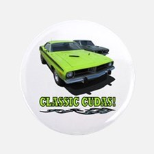 """CLASSIC CUDAS! 3.5"""" Button"""