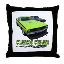 CLASSIC CUDAS! Throw Pillow
