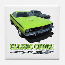 CLASSIC CUDAS! Tile Coaster