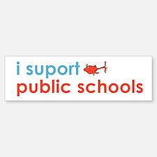Public Schools Bumper Bumper Sticker