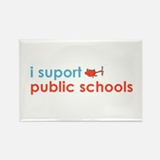 Public Schools Rectangle Magnet (10 pack)
