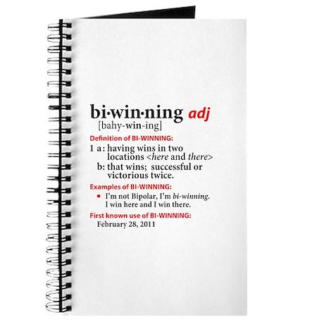 Bi-Winning Definition Journal