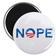 "NOPE Anti Obama 2.25"" Magnet (100 pack)"