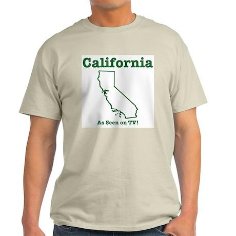 California: As seen on TV Ash Grey T-Shirt