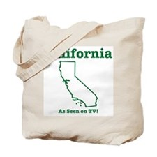 California: As seen on TV Tote Bag