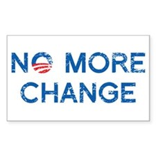 NO MORE CHANGE Decal