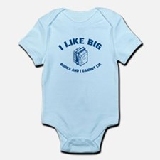 I Like Big Books Infant Bodysuit