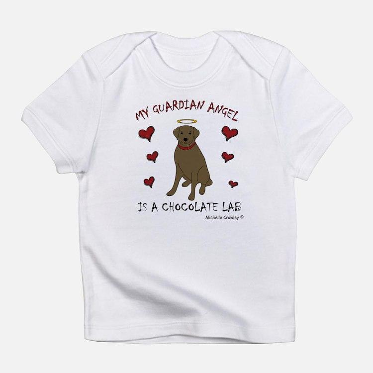 chocolate lab Infant T-Shirt