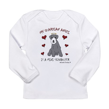 miniature schnauzer Long Sleeve Infant T-Shirt