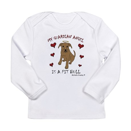 pit bull Long Sleeve Infant T-Shirt