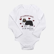 sheltie Long Sleeve Infant Bodysuit
