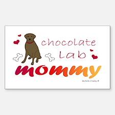 chocolate lab Decal