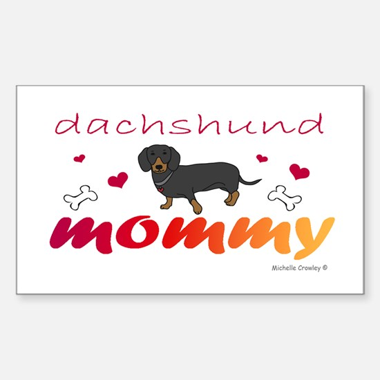 dachshund Sticker (Rectangle)