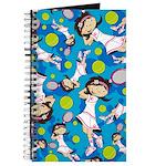 Cute Little Tennis Girl Journal