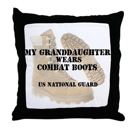 My Granddaughter Wears NG DCB Throw Pillow
