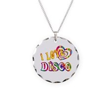 I Love Disco Necklace