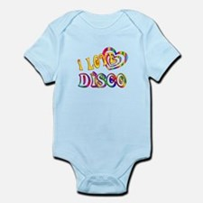 I Love Disco Infant Bodysuit
