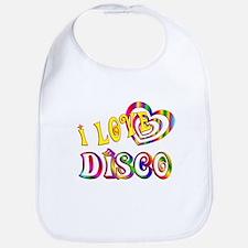 I Love Disco Bib