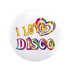"I Love Disco 3.5"" Button"