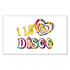 I Love Disco Decal