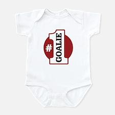 #1 Goalie Infant Bodysuit