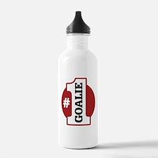 #1 Goalie Water Bottle
