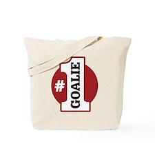#1 Goalie Tote Bag