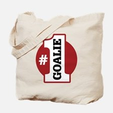#1 Goalie Tote Bag