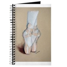 Ballet Pointe Shoes Journal