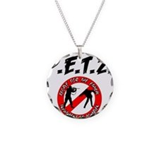 P.E.T.Z. with Logo Necklace
