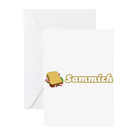 Sammich Greeting Cards (Pk of 10)