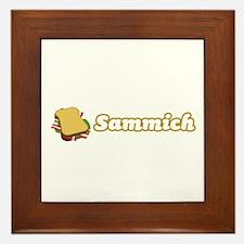 Sammich Framed Tile